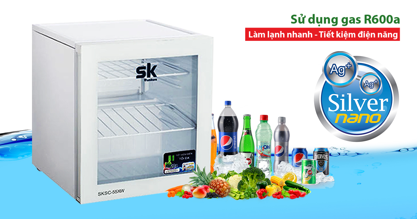 Đánh giá tủ mát Sumikura SKSC-55WX